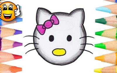 How to Draw Hello Kitty as an Emoji
