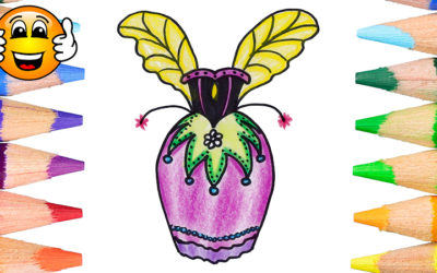 How to Draw a Fairy Dress Coloring Page for Kids