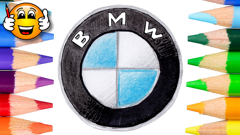 How to Draw the BMW Logo