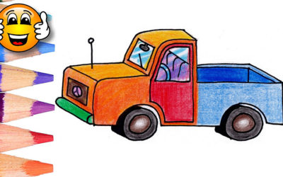 Coloring Pages For Kids Pickup Truck