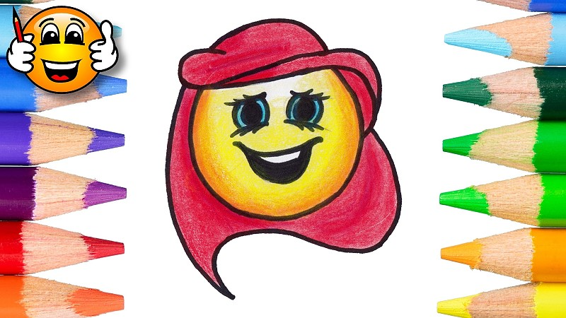 How To Draw Ariel The Little Mermaid As An Emoji Draw With Mermaid minnie is rainbow exclusive emoji in disney emoji blitz. how to draw ariel the little mermaid as