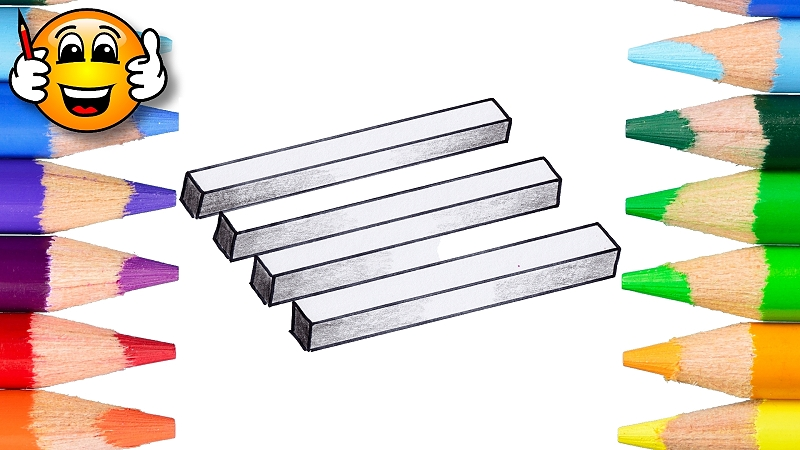 How to Draw the Impossible Bars Illusion