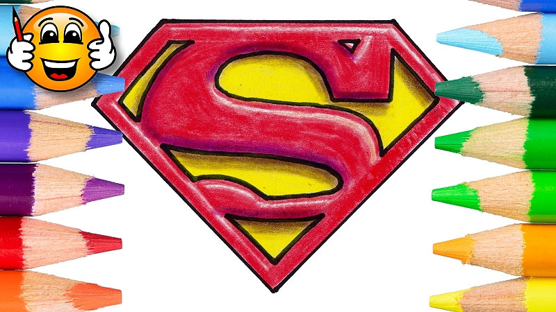 How to Draw the Superman Logo in 3D