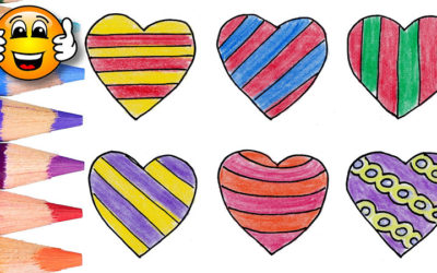 Coloring Pages For Kids Hearts